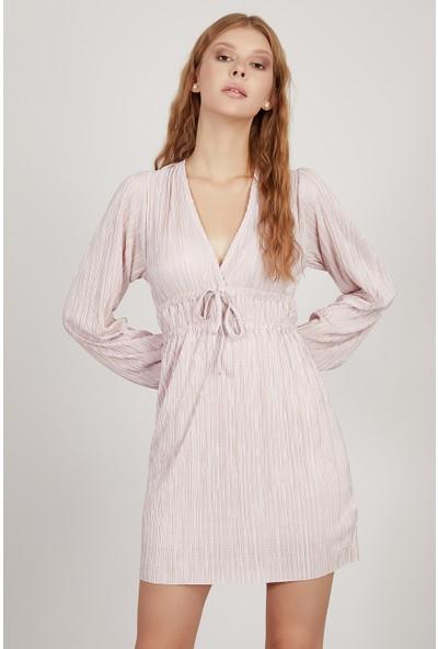 Manche Pudra Kadın Elbise Mk20S284030