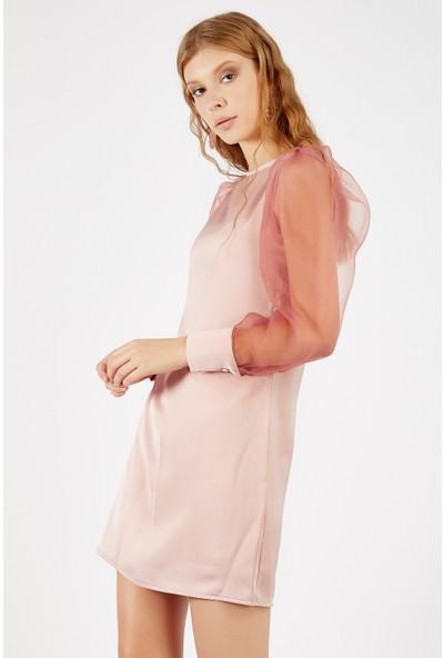Manche Pudra Kadın Elbise Mk20S285076