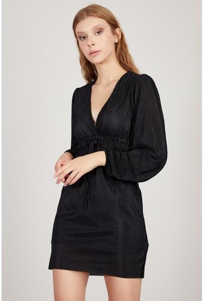 Manche Siyah Kadın Elbise Mk20S284030