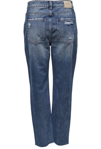 Only 15200171 Onlemıly Lıfe Hw St Crp Ank Mae1904-2 Only Kadın Denim Pantolon 20Y
