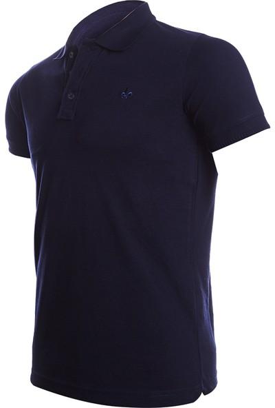 Wgust Antalya Erkek Lacost T-Shirt Lacivert XS