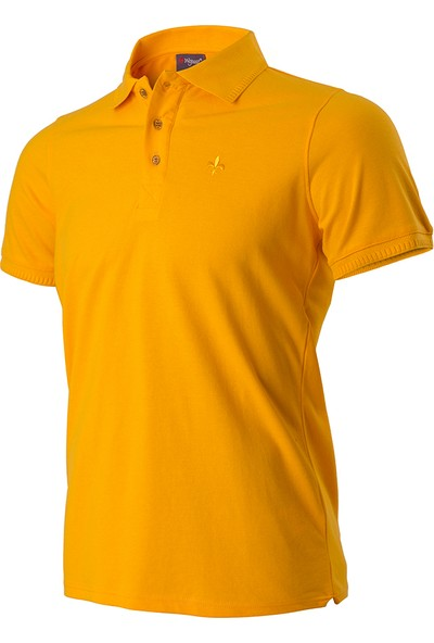 Wgust Antalya Erkek Lacost T-Shirt Sarı S