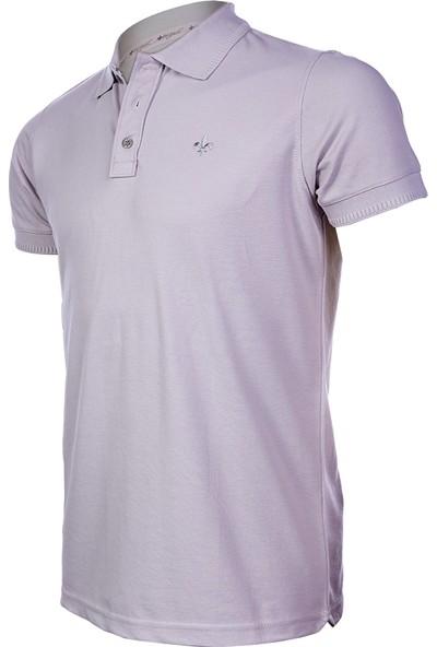 Wgust Antalya Erkek Lacost T-Shirt Açık Gri XS