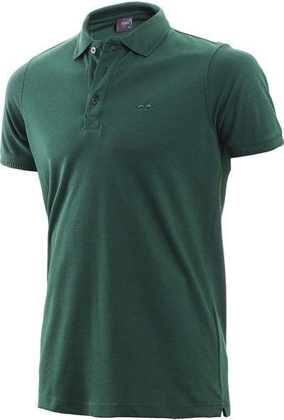 Wgust Antalya Erkek Lacost T-Shirt Yeşil XS