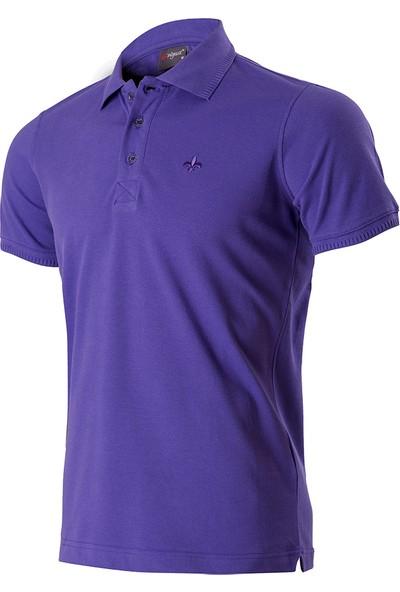 Wgust Antalya Erkek Lacost T-Shirt Mürdüm XS