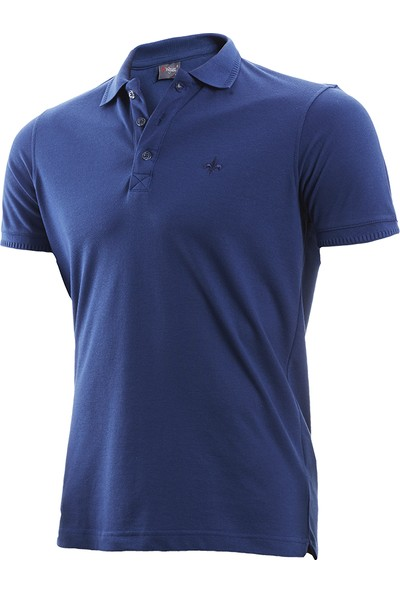 Wgust Antalya Erkek Lacost T-Shirt Indigo XS