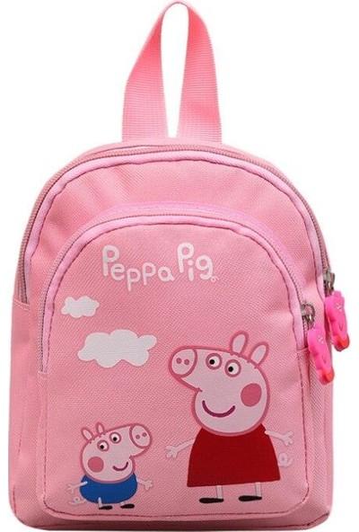 Schulzz Peppa Pig Sırt Çantası Çocuklar Için