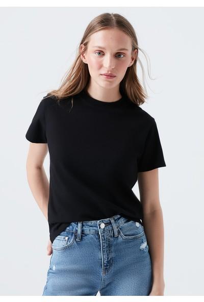 Mavi Siyah Basic T-Shirt