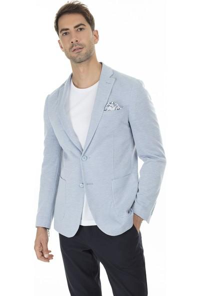 Buratti 6 Drop Klasik Yaka Erkek Ceket MANUES3824