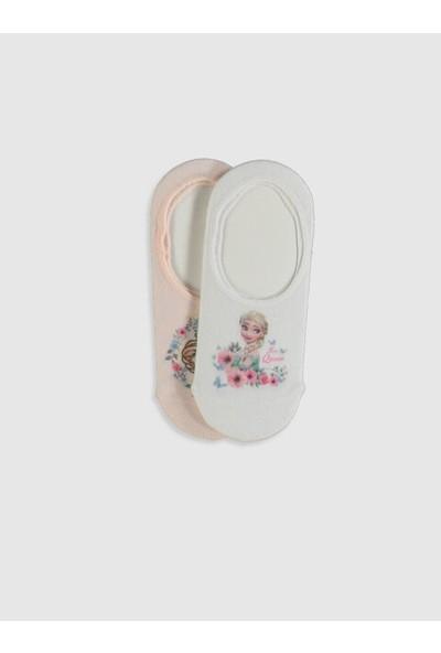 LC Waikiki Frozen Kız Çocuk Babet Çorap