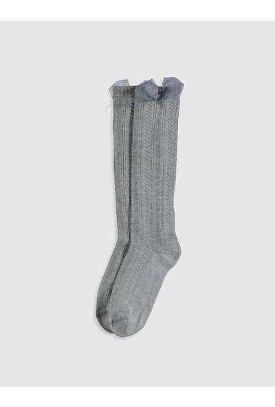 Lc Waikiki Kız Çocuk Diz Altı Çorap