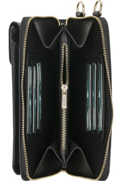 Burkley Joan Kadın Çanta Cüzdan Telefon Kılıfı