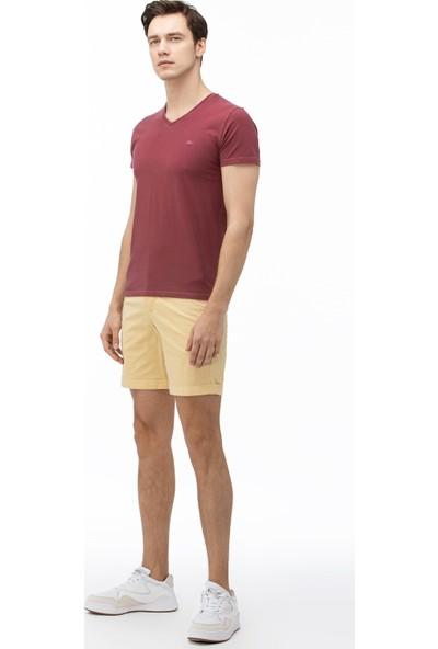 Lacoste Erkek Açık Sarı Bermuda Şort FH0005.05S