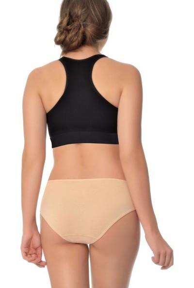 Almila 3 Adet Kadın Külot Bikini Külot 2017 Ten 42