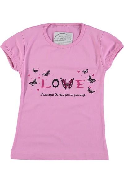 Beberium Love Kelebek Baskılı T-Shirt