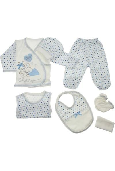 Junior Bombino Tavşanlı 7 Parça Bebek Hastane Çıkışı