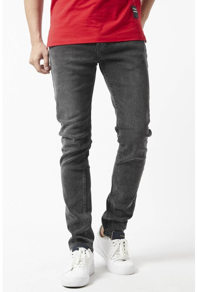 Gotica Erkek Gri Slim Fit Jeans Pantolon