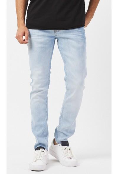 Jean Maker Slim Fit Erkek Buz Mavisi Jeans Pantolon