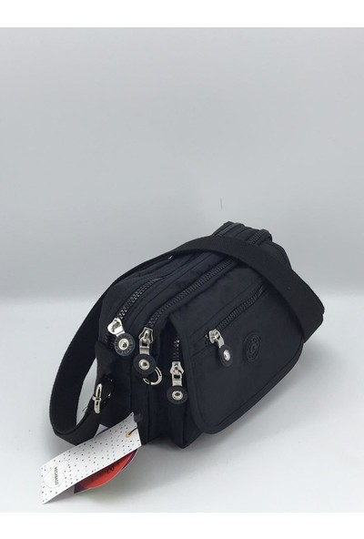 Mega 215 Kipling Kadın Çapraz Çanta Siyah