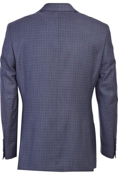 Kiğılı Klasik Kareli Takım Elbise