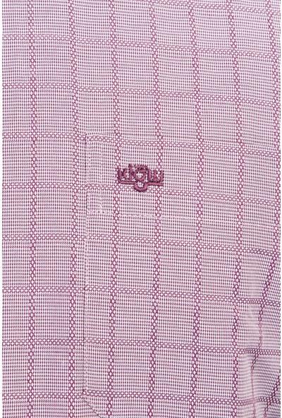 Kiğılı Uzun Kol Klasik Desenli Gömlek