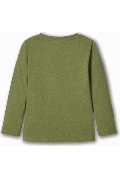 Name İt Erkek Çocuk Baterist Mickey Baskılı T-Shirt