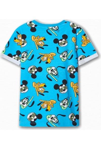 Name İt Erkek Çocuk Disney Mickey Baskılı T-Shirt