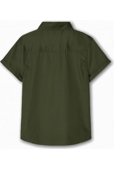 Name İt Erkek Çocuk Milİtary Gömlek