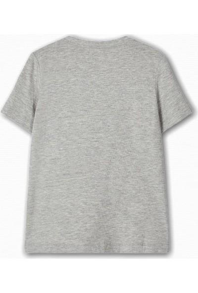 Name İt Erkek Çocuk Rockstar Hayvan Baskılı T-Shirt