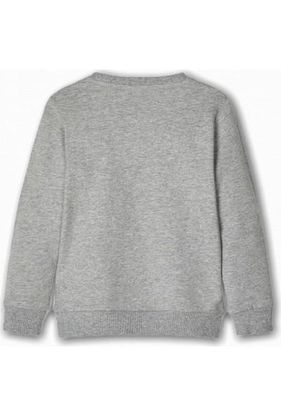 Name İt Kız Çocuk Çanta Detaylı Sweatshirt