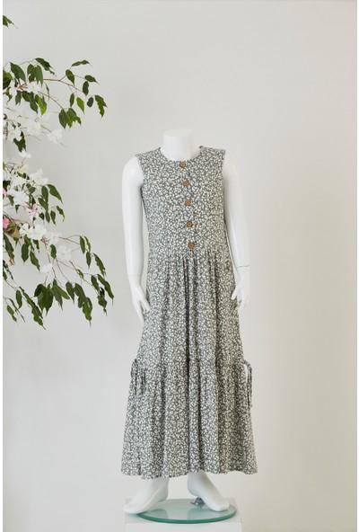 Pafim Kolsuz Empirme Elbise