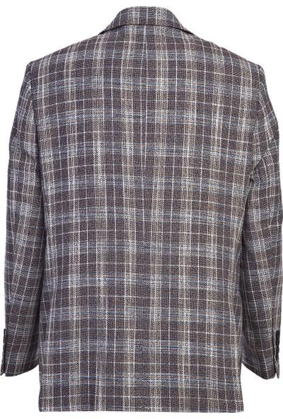 Kiğılı Klasik Ekose Ceket
