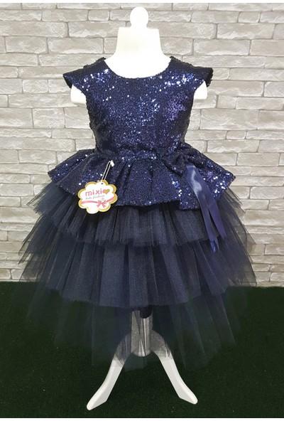 Mixie Baby Doğum Günü Tüllü Kız Çocuk Abiye Elbise