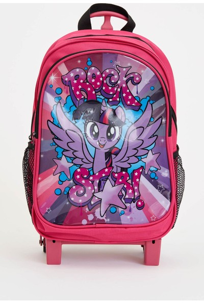 Defacto Kız Çocuk My Little Pony Lisanslı Sırt Çantası