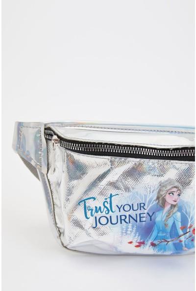 Defacto Kız Çocuk Frozen Lisasanslı Bel Çantası