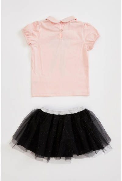 DeFacto Kız Bebek Bluz ve Tütü Etek Takım R4935A220AU