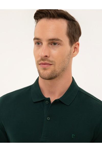 Pierre Cardin Erkek Koyu Yeşil Slim Fit Sweatshirt 50226541-VR079