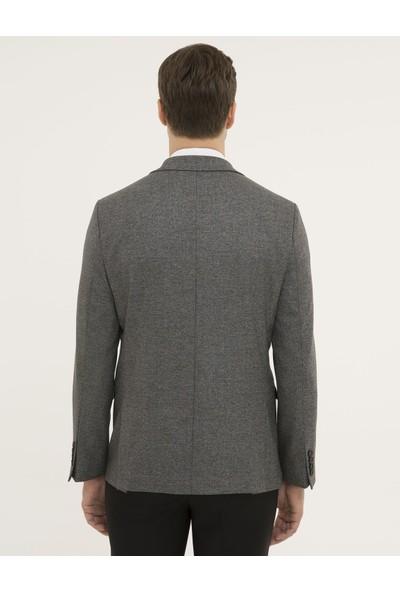 Pierre Cardin Erkek Füme Slim Fit Ceket 50229783-VR058