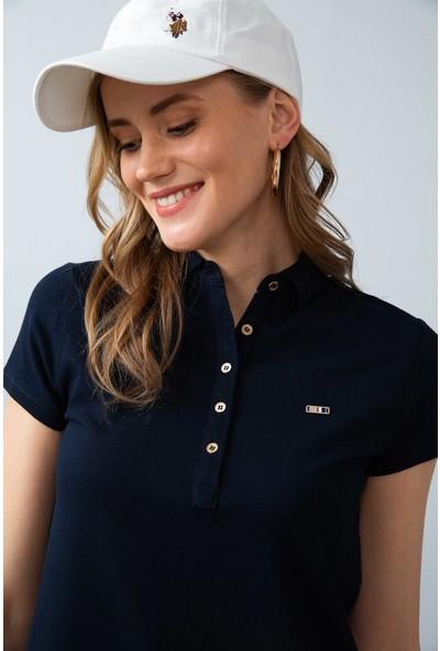 U.S. Polo Assn. Kadın Lacivert Örme Elbise 50225487-Vr100