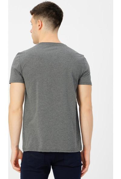 Limon Company Erkek Bisiklet Yaka Tişört