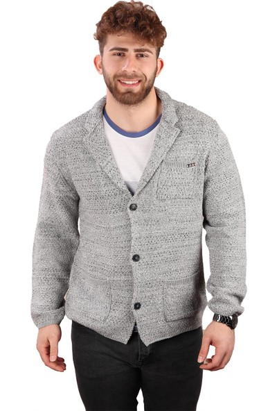 Alexander Gardi Düğmeli Örme Casual Triko Ceket