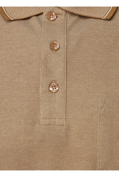 Altınyıldız Classics Polo Yaka Cepli Regular Fit Bol Kesim Düz Tişört