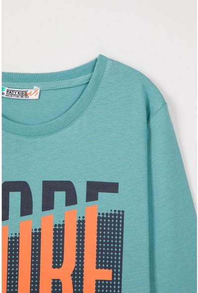 Paty Kids Erkek Çocuk Baskılı T-Shirt