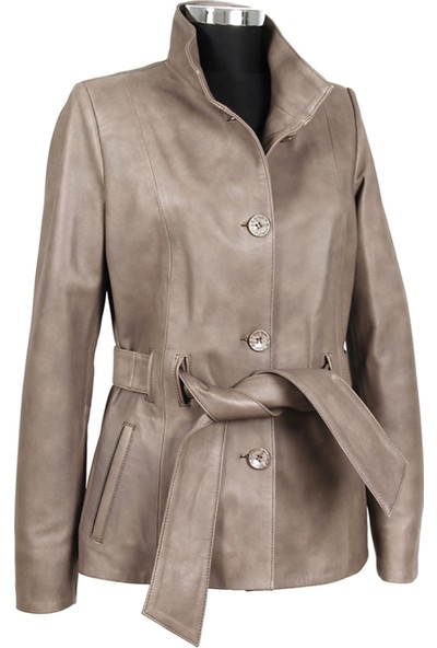 Gön Deri Kadın Ceket D3550