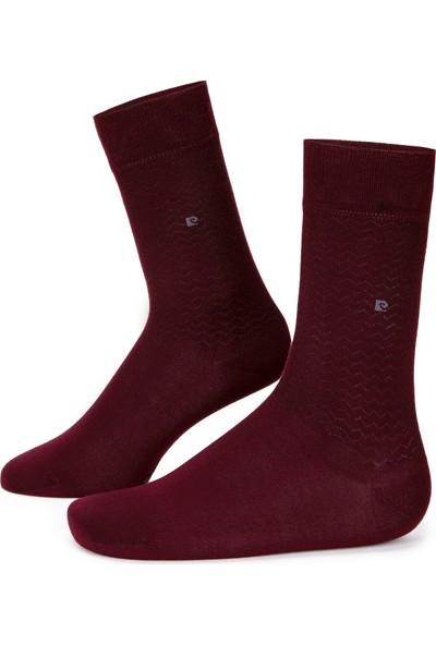 Pierre Cardin Erkek Bordo Çorap 50233288-900