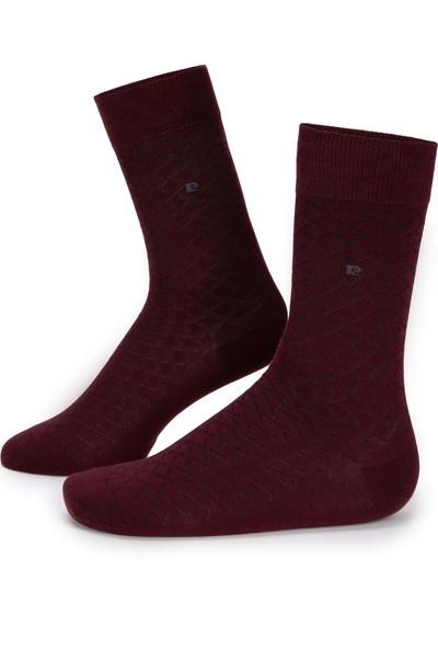 Pierre Cardin Erkek Bordo Çorap 50233301-900