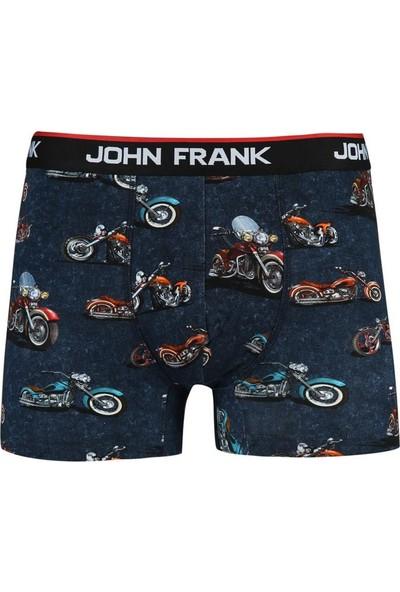 John Frank Erkek Baskılı Boxer Jfbd284