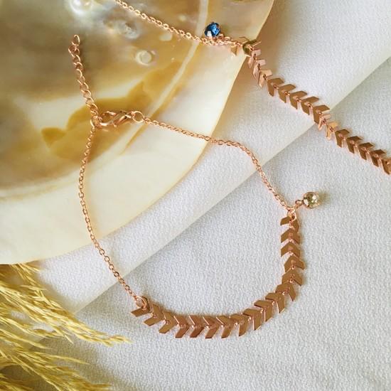 Pearl Beads Çavuş Zinciri Halhal