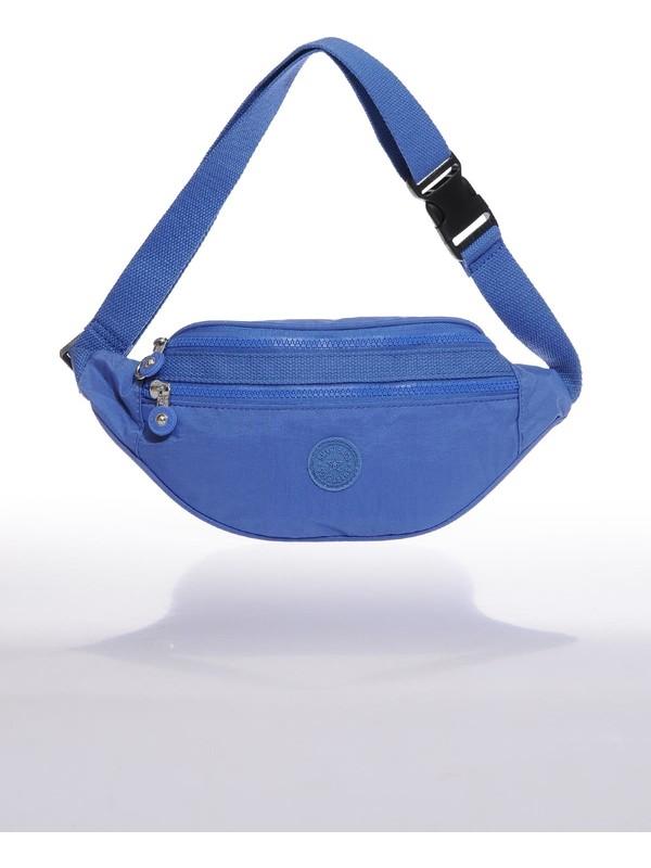 Smart Bags SMB3030-0031 Mavi Kadın Bel Çantası