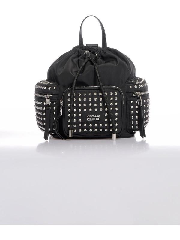 Versace J. Couture E1 Vzbbx3 Siyah Kadın Sırt Çantası